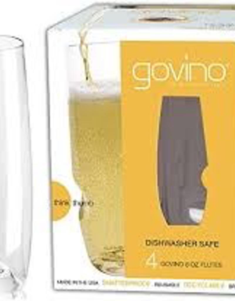 Govino Classic 8oz Flutes
