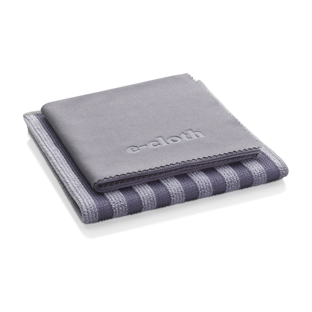 e-cloth Stainless Steel Pack-  2 cloths