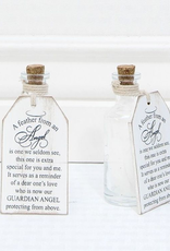 Adams & Co Wood Tag A Feather from an Angel