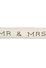 Mud Pie Mr. & Mrs. Skinny Pillow