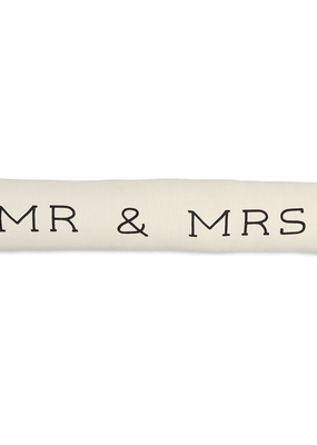 Mud Pie Mr. & Mrs. Skinny Pillow