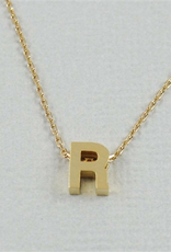 Cool and Interesting - Gold Block Initial R