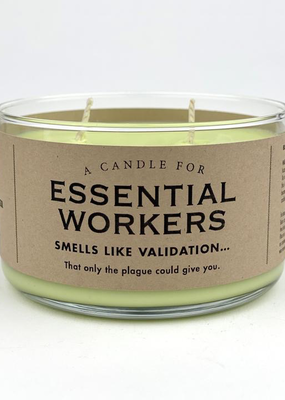 Whiskey River Soap Co. Essential Worker Candle