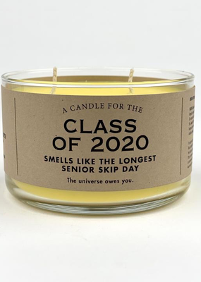 Whiskey River Soap Company - Class of 2020 - Candle