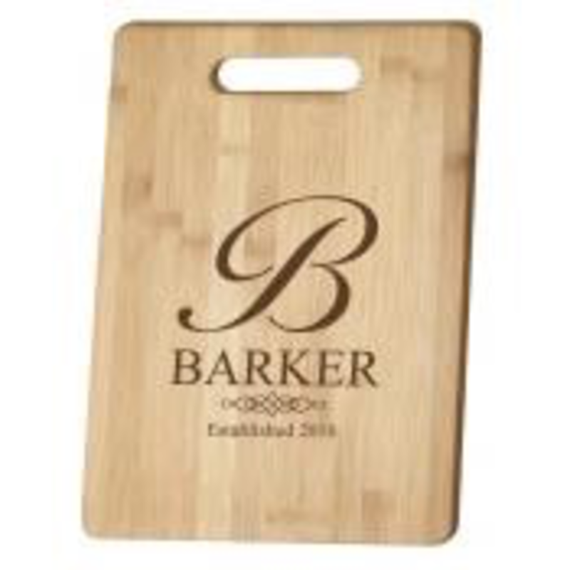 Bamboo Cutting Board w/ Handle