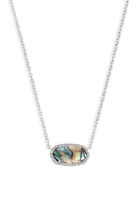 Kendra Scott Kendra Scott Elisa Silver & Abalone Necklace