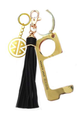 Pieces of Me Don't Touch That Keychain - Black