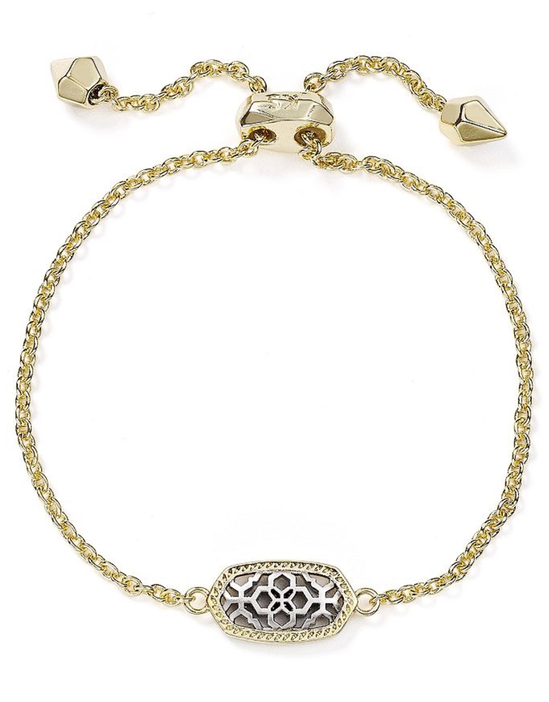 Kendra Scott Kendra Scott Elaina Bracelet Gold - Rhod Filigree Mix