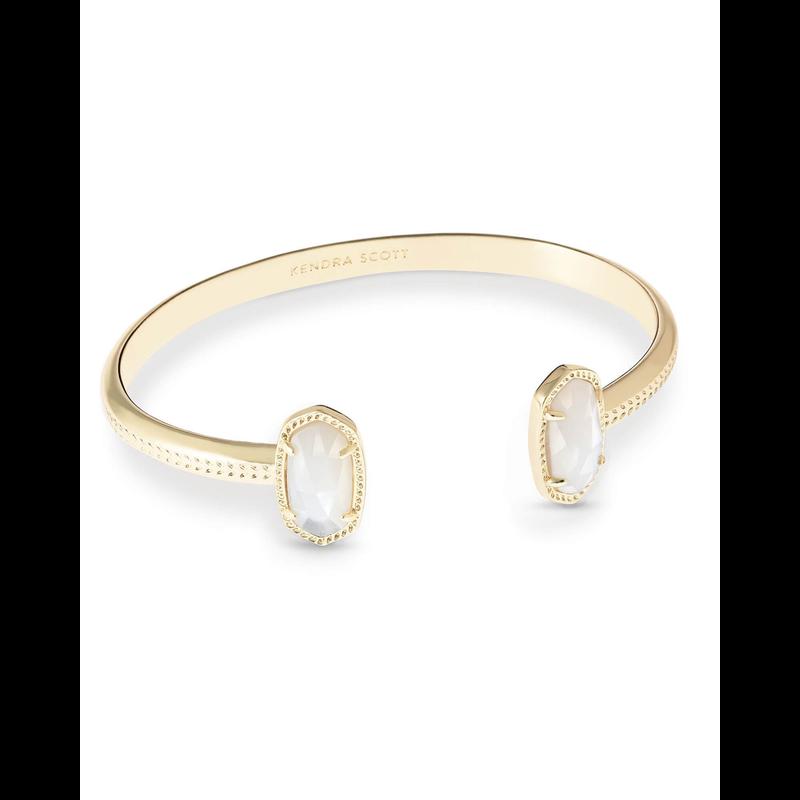 Kendra Scott Elton Bracelet in Gold Ivory Mother of Pearl
