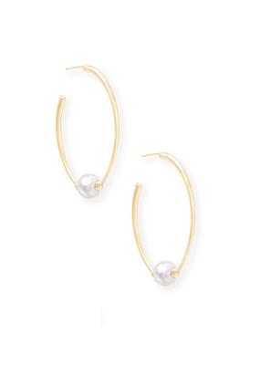 Kendra Scott Regina Earring Gold Baroque Pearl