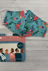 Care Cover Care Cover Mask - Blue Floral