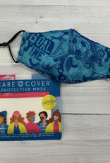 Care Cover Kid's Care Cover Mask - Blue Graphic
