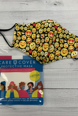 Care Cover Kid's Care Cover Mask - Emoji Faces