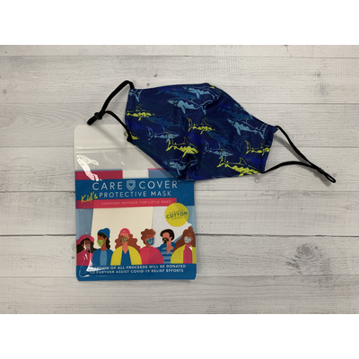 Care Cover Kid's Care Cover Mask - Sharks