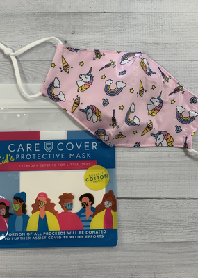 Care Cover Kid's Care Cover Mask - Rainbow Unicorns