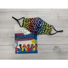 Care Cover Kid's Care Cover Mask - Rainbow Leopard