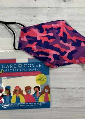 Care Cover Kid's Care Cover Mask - Pink Camo