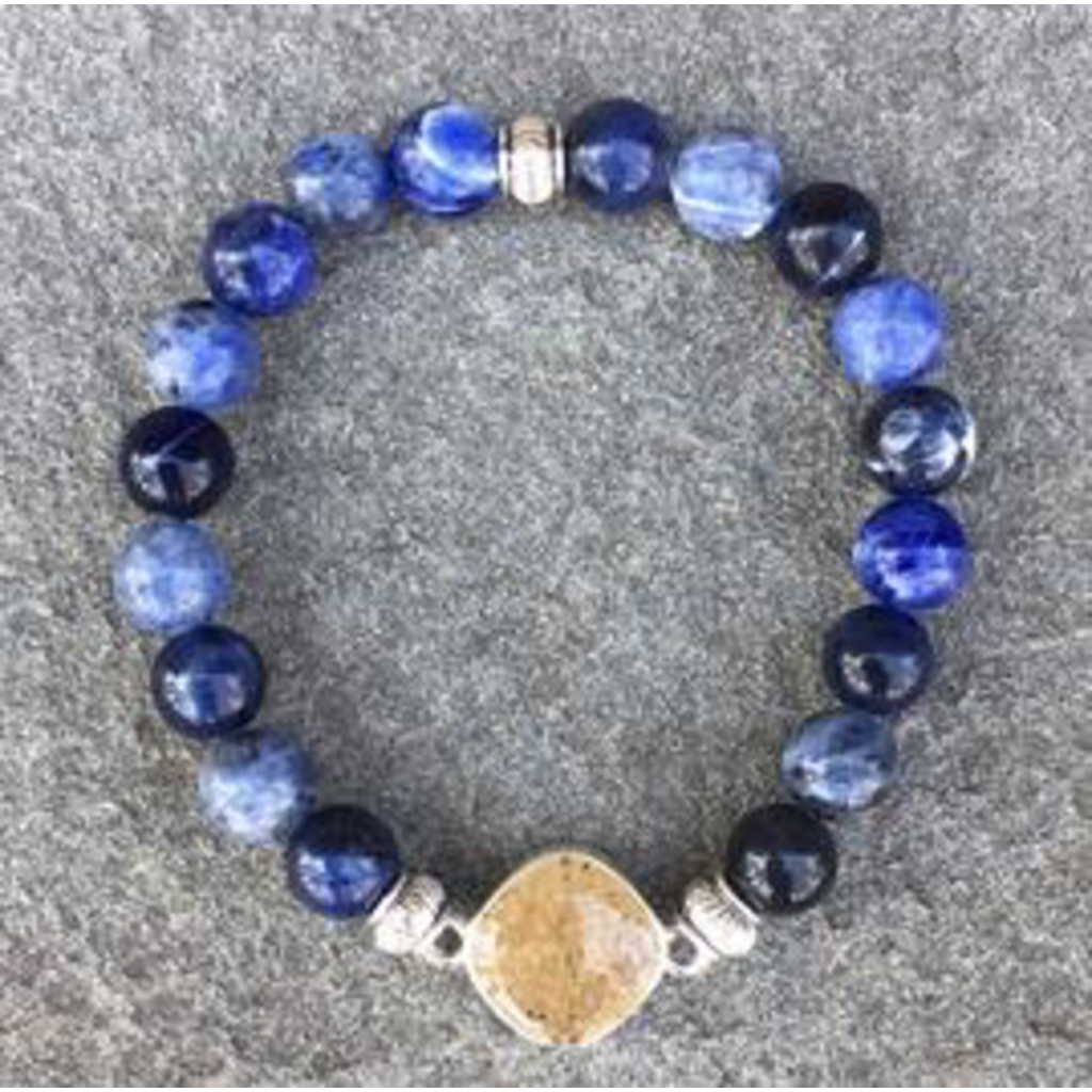 Jersey State Line - Cape May, New Jersey/Sodalite