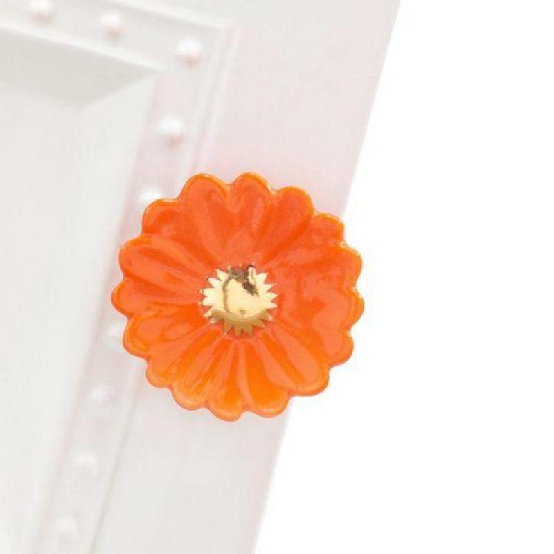 Nora Fleming Orange Flower