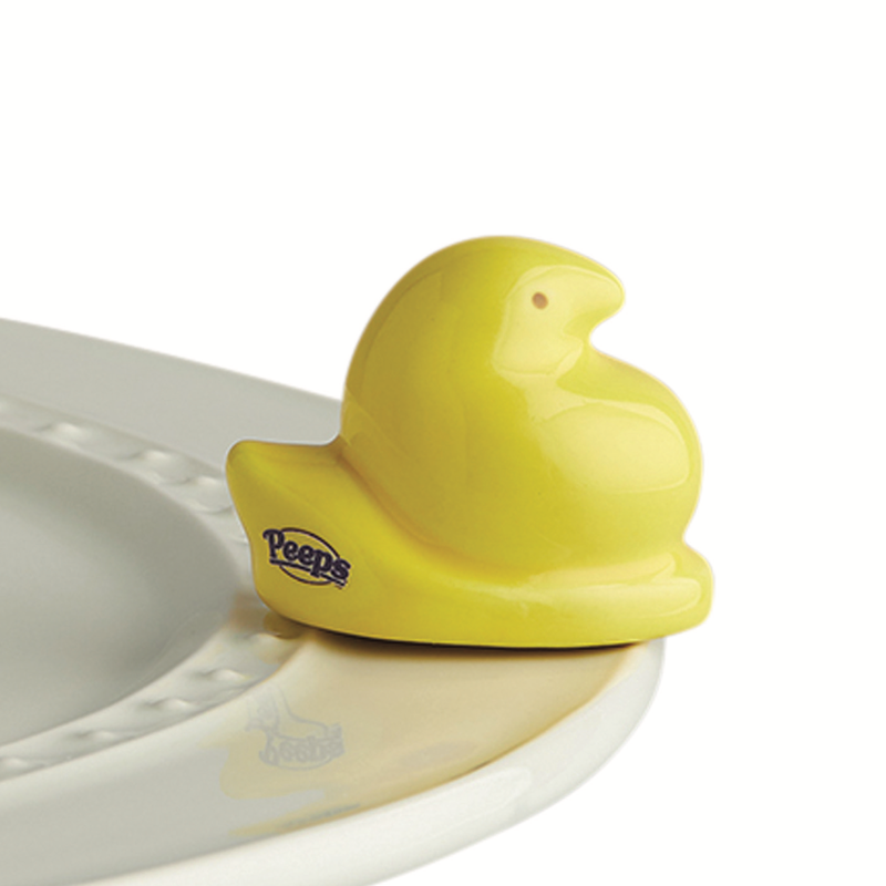 Nora Fleming Yellow Peeps Chick Mini