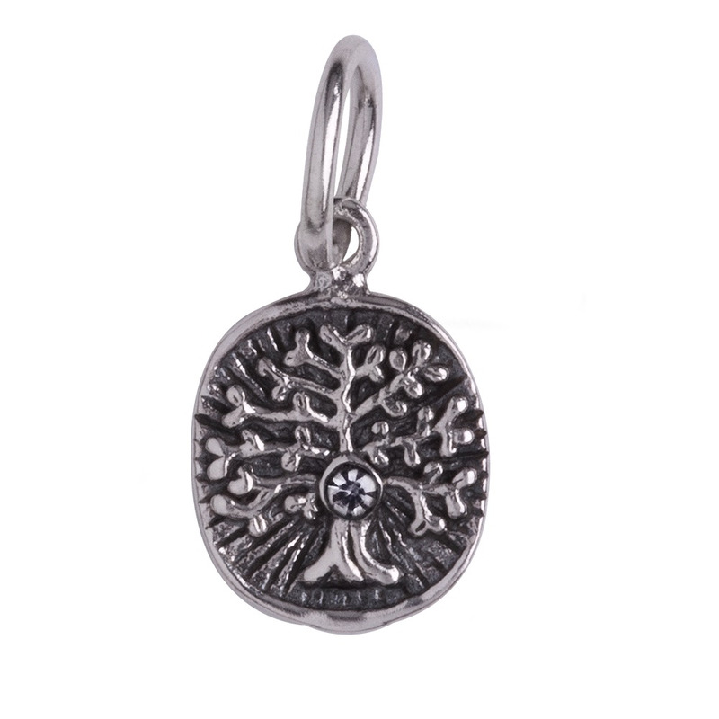 Waxing Poetic Waxing Poetic Vital Spark Charm-Tree of Life-Sterling Silver