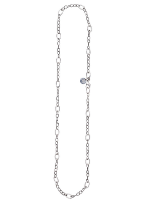 """Waxing Poetic Waxing Poetic Twisted Link with Silver Rings Chain - Silver - 18"""""""