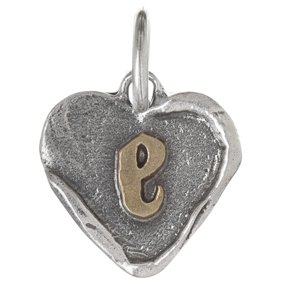 Waxing Poetic Waxing Poetic Heart Insignia-Brass/Silver-E