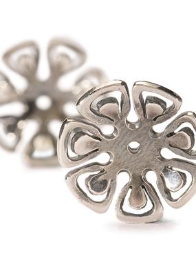 TROLLBEADS - Graphic Flower Earrings