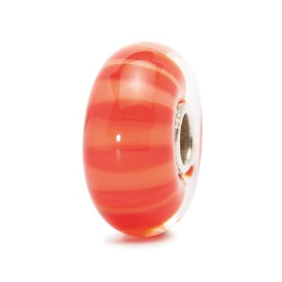 TROLLBEADS - Peach Stripe Beads