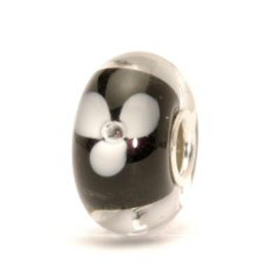 TROLLBEADS - White Flower Bead
