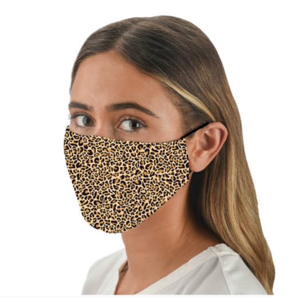 Snoozies Snoozies Leopard Fashion Face Covering
