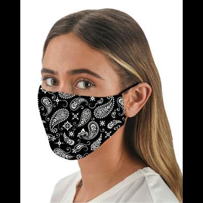 Snoozies Snoozies Black Bandana Fashion Face Covering