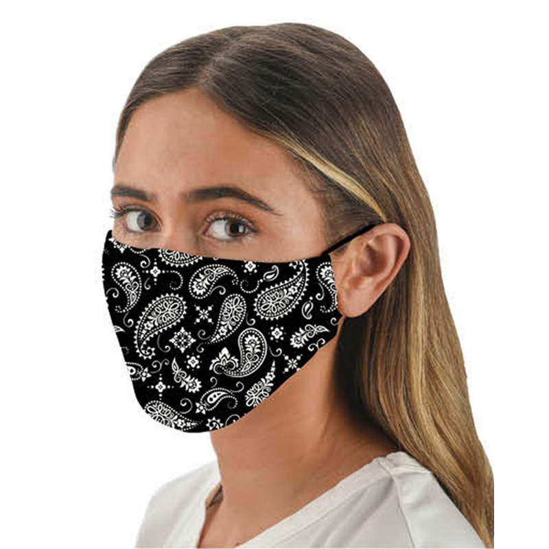 Snoozies Snoozies Black Bandana Fashion Face Covering
