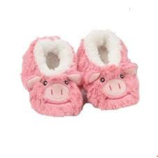 Baby Snoozies Pig Slippers 0-3