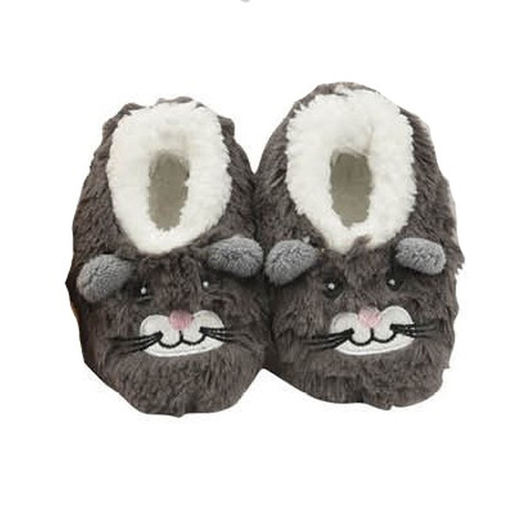 Baby Snoozies Mouse Slippers 3-6