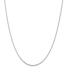 """Sterling Silver 1.1 mm Diamond Cut Rope Chain 16"""""""