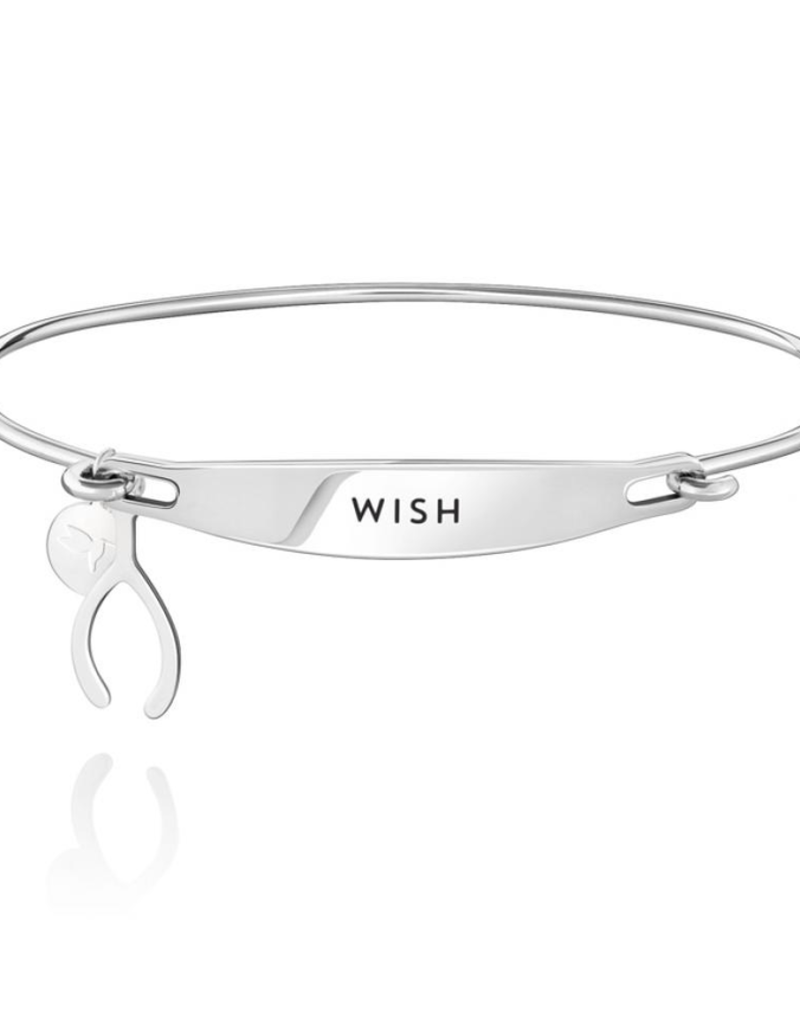 Chamilia Wish ID Bangle - SS - M/L
