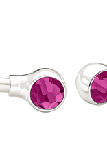 Chamilia Crystal Bangle Accents - Fuchsia Swarovski
