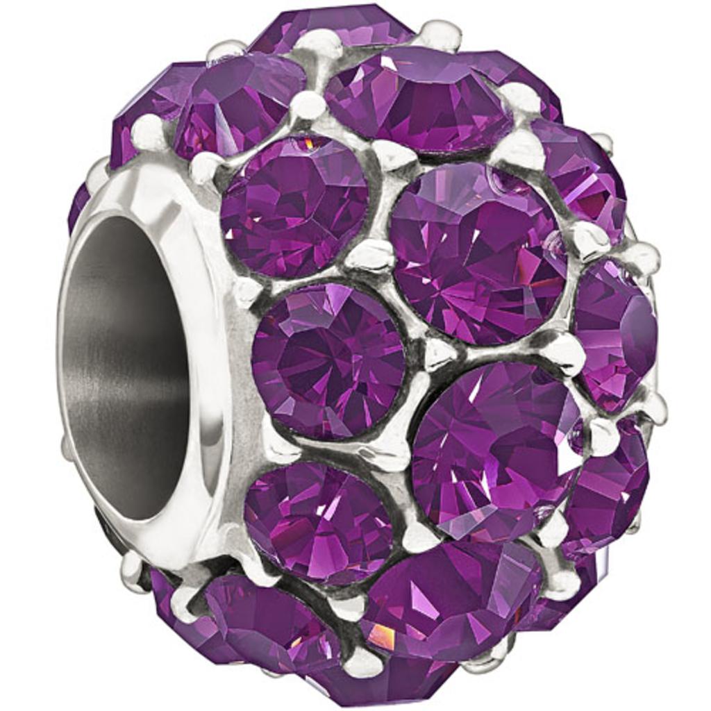 Chamilia Chamilia Sterling Silver w Stone - Splendor - Purple Swarovski - Tray 2