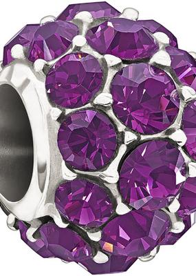 Chamilia Sterling Silver w Stone - Splendor - Purple Swarovski - Tray 2