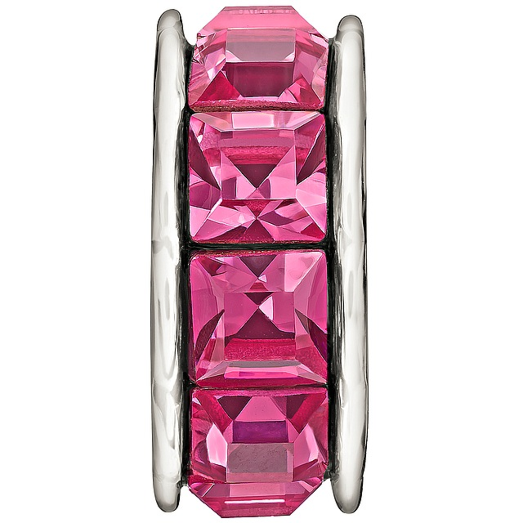 Chamilia Sterling Silver w Stone - Spark - Pink - Tray 2