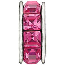 Chamilia Chamilia Sterling Silver w Stone - Spark - Pink - Tray 2