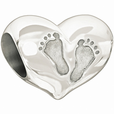 Chamilia Chamilia Sterling Silver w Stone - Baby's First Steps - Tray 3