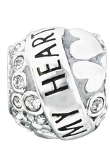 Chamilia Sterling Silver - You Make My Heart Sing Lyrical Banner - Tray 1