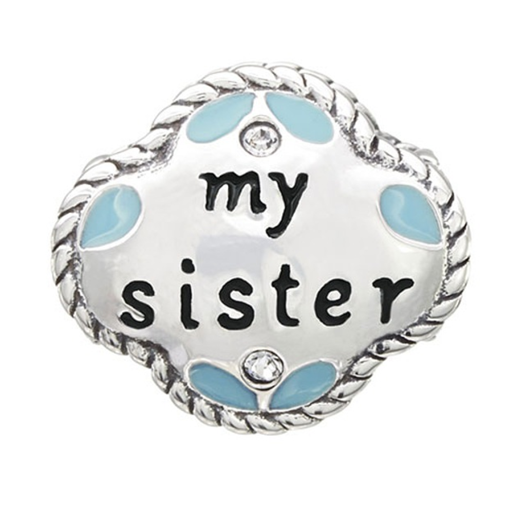 Chamilia Chamilia My Sister, My Friend - Sterling Silver with Swarovski Crystal and Enamel - Tray 1