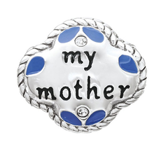 Chamilia Chamilia My Mother, My Friend - Sterling Silver with Swarovski Crystal and Enamel - Tray 1