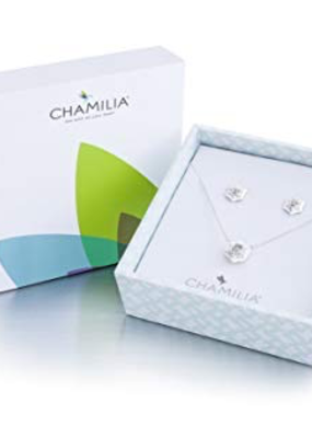 Chamilia Snow Star Necklace & Earrings Disc