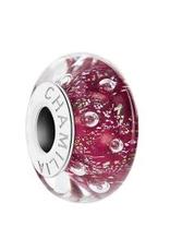 Chamilia EFFERVESENSE Merlot Murano Glass - Tray 4