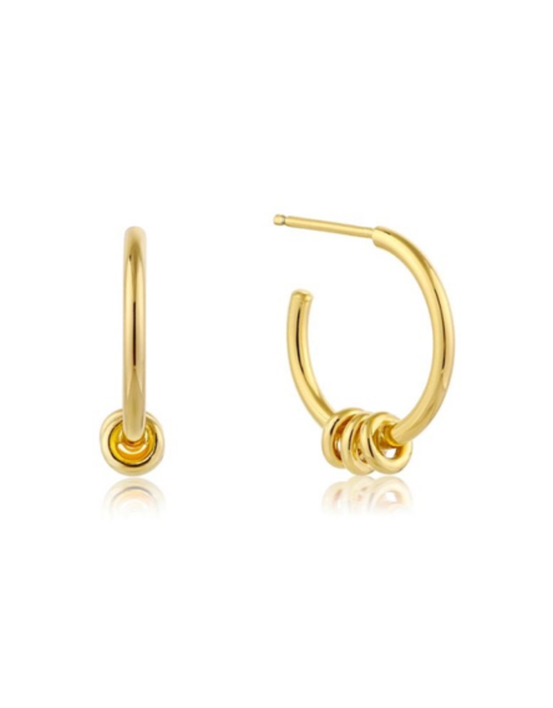 Ania Haie Modern Hoop Earrings