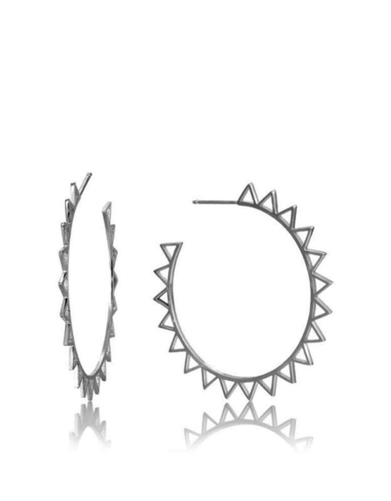 Ania Haie Spike Hoop Earrings